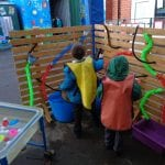 Early Years' Outdoor Area